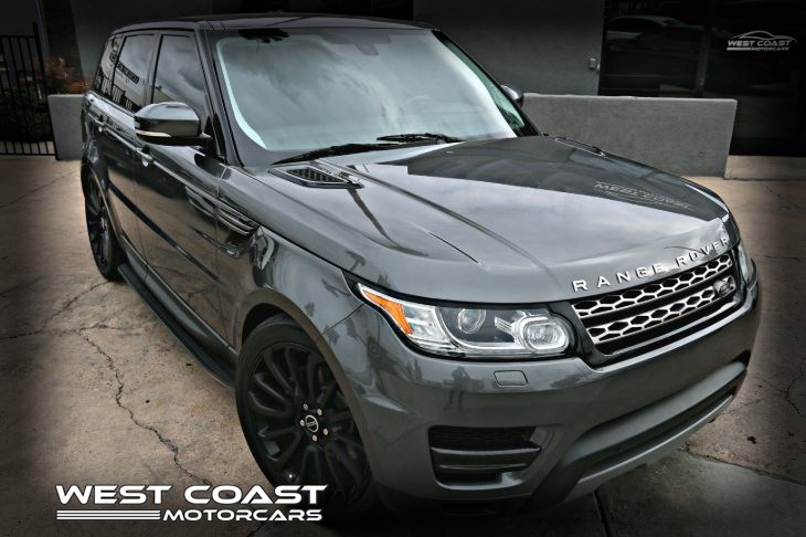 2014 Land Rover Range Rover Sport * MSRP($71,050) * 4 WHEEL DRIVE SE EXECUTIVE *SUPERCHARGED *HIGHLY OPTIONED