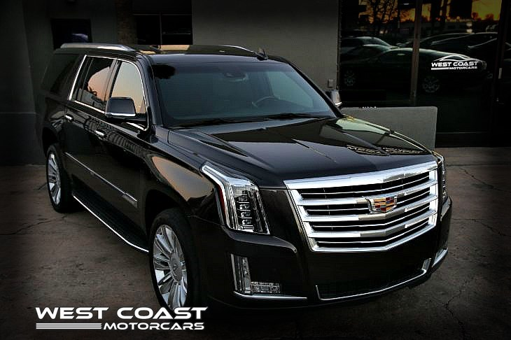 2016 Cadillac Escalade ESV **PLATINUM LUXURY EDITION** **1-OWNER**HIGHLY OPTIONED**ENTERTAINMENT PKG