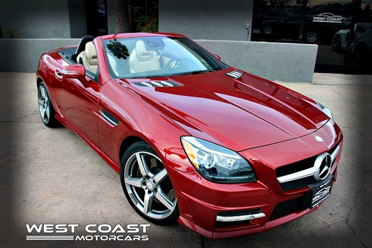2015 Mercedes-Benz SLK 250 *PREMIUM 1 PACKAGE *HARD-TOP CONVERTIBLE Sport *ONLY 24K MILE *MAGIC SKY CONTROL MOON-ROOF