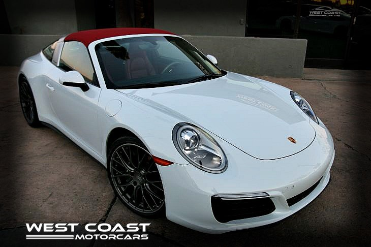 2017 Porsche 911 **TARGA 4 EDITION**HIGHLY OPTIONED**CERTIFIED PRE-OWNED**1-OWNER**UNDER CPO WARRANTY