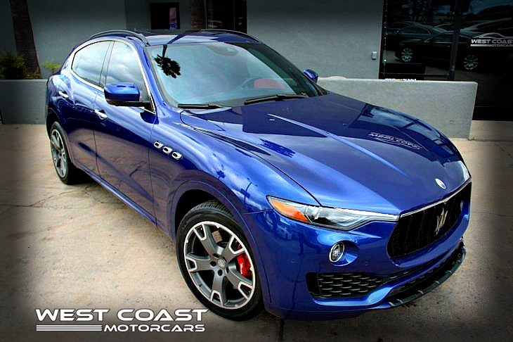2017 Maserati LEVANTE S *LUXURY PORT EDITION**CARBON FIBE PKG 1-OWNER RARE COLOR COMBO*MSRP($109,900)