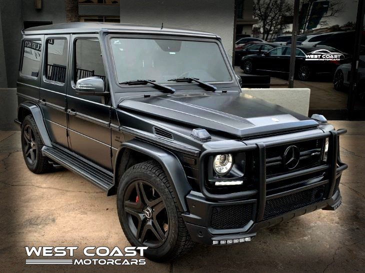 2015 Mercedes-Benz G63 AMG *BRABUS EDITION *DESIGNO MAGNO PLATINUM MATTE* 2 TONE RED & BLACK INTERIOR *MSRP($158,250)