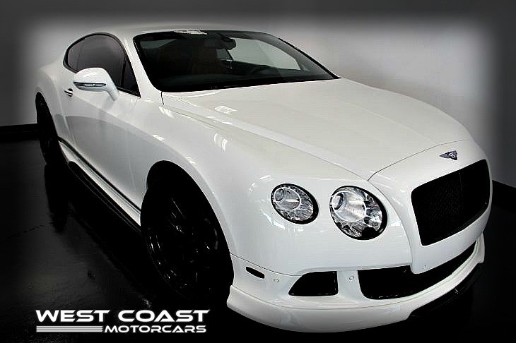 2012 Bentley Continental GT *VORSTEINER EDITION *WHITE ON RED SPECIAL ORDERED *HIGHLY OPTIONED*MSRP($231,870)