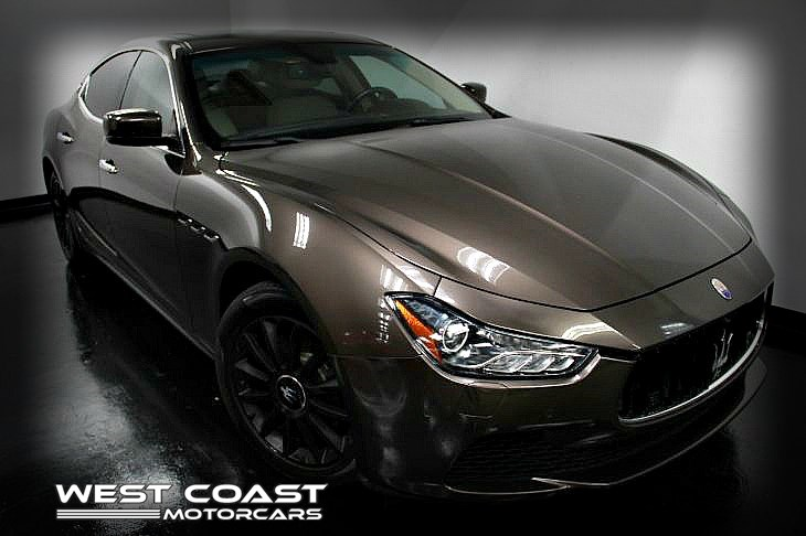 2014 Maserati Ghibli TWIN TURBO *LUXURY PREMIUM PKG *HIGHLY OPTIONED*RARE COLOR COMBO*SPORT PKG *MSRP($86,850)