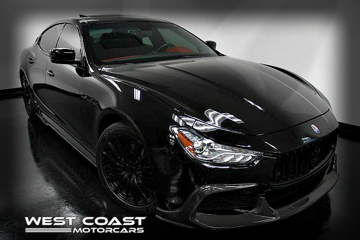 2016 Maserati Ghibli Twin Turbo *CARBON FIBER TRIM *RED INTERIOR LUXURY PKG*CARBON FIBER WIDEBODY KIT*MSRP($87,700)
