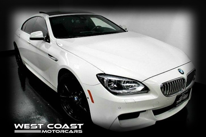 2015 BMW 650i GRAN COUPE TWIN-TURBO *M SPORT EDITION WHITE ON RED INTERIOR*EXECUTIVE PKG*MSRP($117,280)