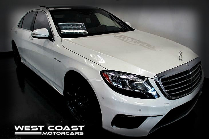 2015 Mercedes-Benz S63 AMG*EXECUTIVE PKG* *DESIGNO WHITE*HIGHLY OPTIONED*MSRP($166,465)