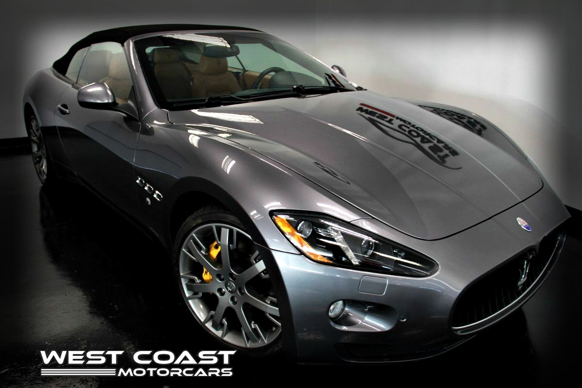 2014 Maserati GranTurismo Convertible Sport GTC *HIGHLY OPTIONED *444+HP FERRARI ENGINE*MSRP($149,240)