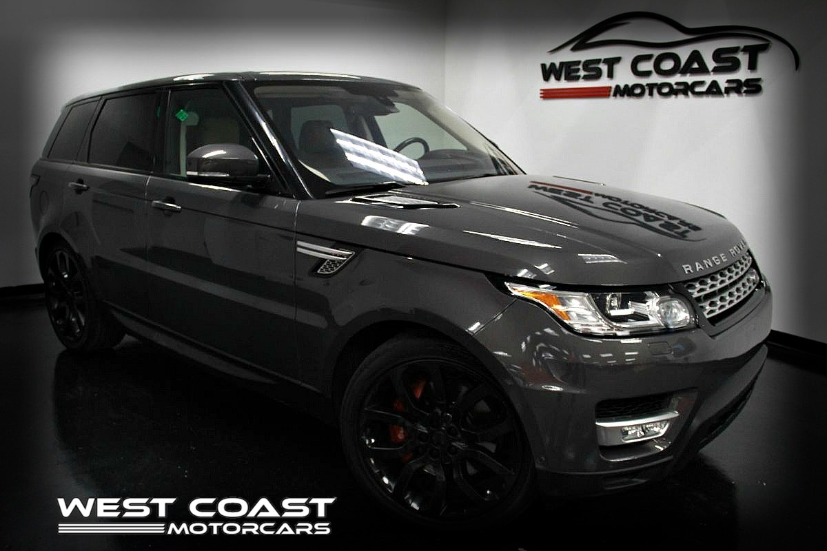 2016 Land Rover Range Rover Sport V8 SUPERCHARGED*1 OWNER*LUXURY CLIMATE COMFORT & VISIBILITY PACK*MSRP($94,665)