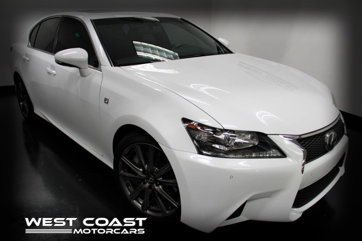 2015 Lexus GS 350 F-SPORT CRAFTED LINE*LEXUS HDD NAVIGATION SYSTEM*WHITE ON RED INTERIOR*FULLY LOADED