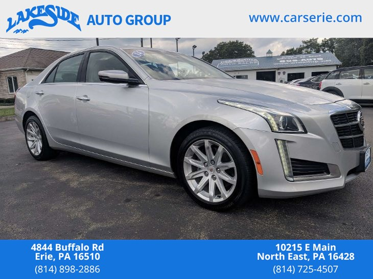 Certified Used 2014 Cadillac Cts Sedan Awd In Erie