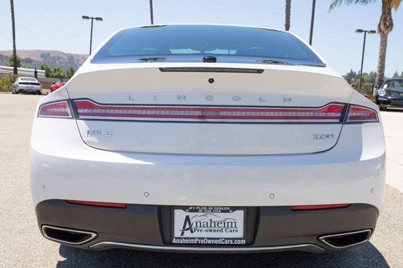 2017 Lincoln MKZ Hybrid Reserve - Plug In Auto