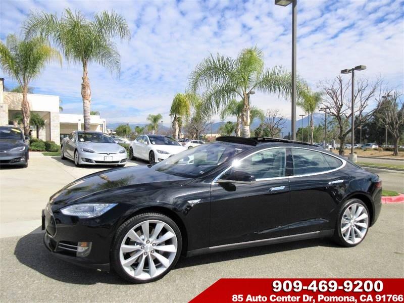 Sold 2015 Tesla Model S 85d In Pomona