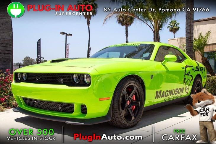 2015 Dodge Challenger Srt Hellcat Plug In Auto