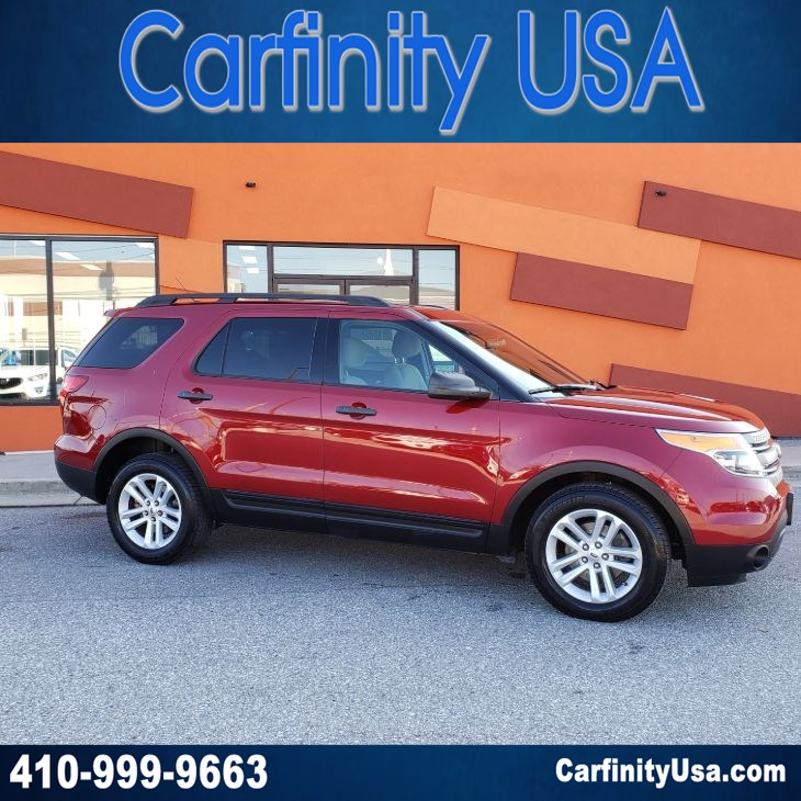 2015 Ford Explorer With 3rd Row And Tow Package And Aux Input Carfinity
