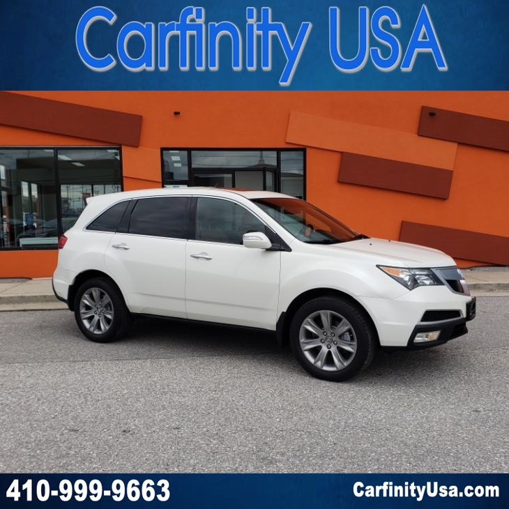 2013 Acura MDX Advance Pkg AWD w/NAV and Back Up Camera