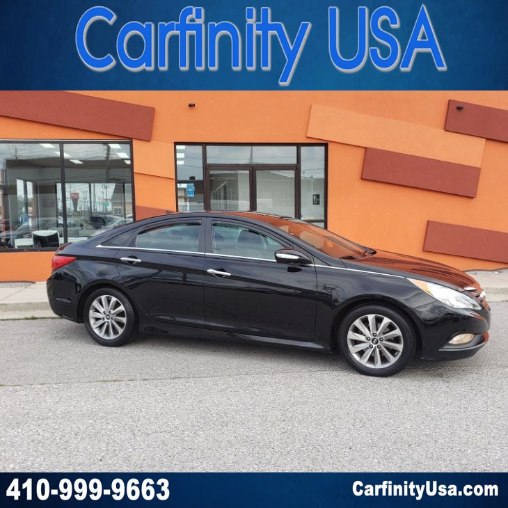 2014 Hyundai Sonata Limited w/NAV and Blind Spot and Back Up Camera