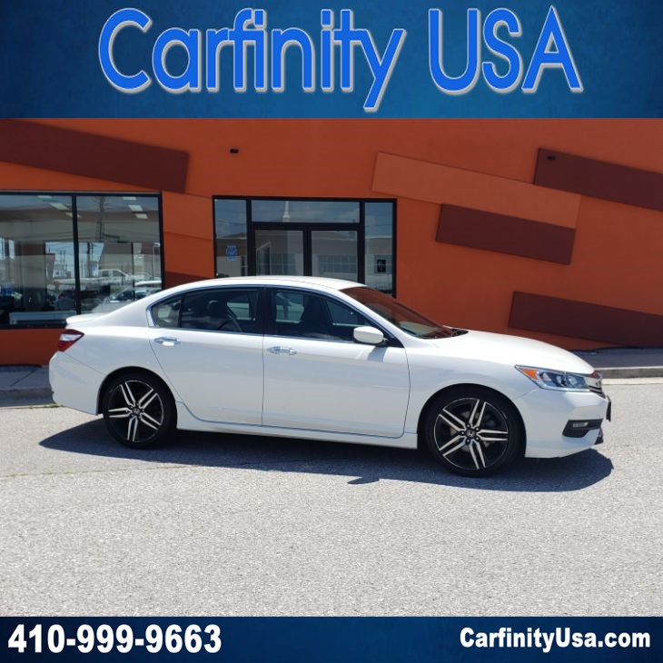 2016 Honda Accord Sedan Sport w/Back Up Camera and Bluetooth