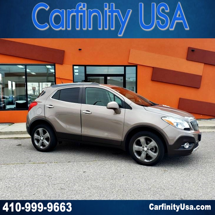 2013 Buick Encore Convenience AWD w/NAV and Back Up Camera