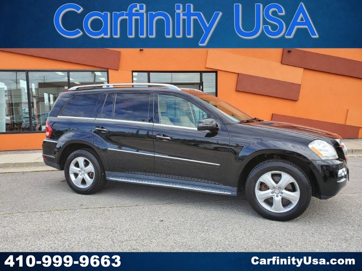 2011 Mercedes-Benz GL 450 4MATIC w/NAV and Back Up Camera and Blind Spot