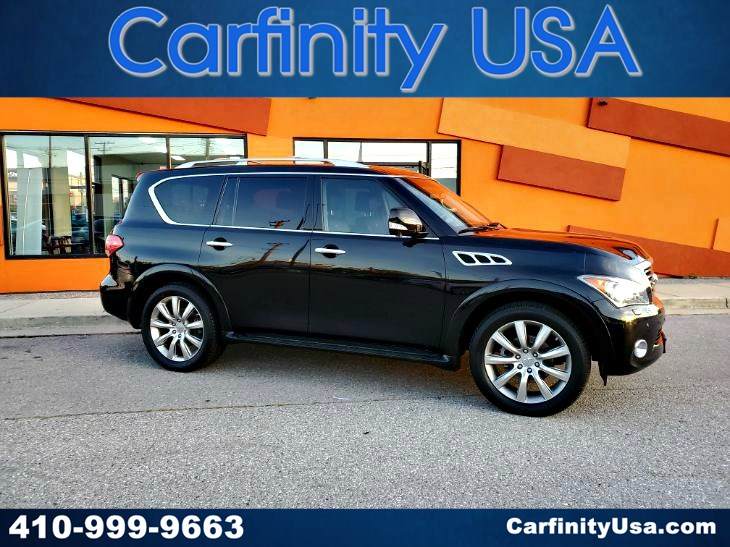 2013 INFINITI QX56 4WD w/NAV and DVD and Back Up Camera