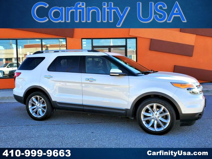 2012 Ford Explorer Limited w/NAV and Blind Spot and Dual Sunroof