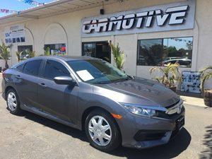 Used 2016 Honda Civic Sedan LX Sedan 4D in Santa Maria