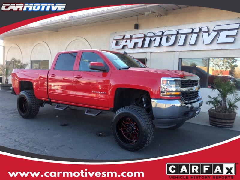 2018 Chevrolet Silverado 1500 LT Pickup 4D 6 1/2 ft