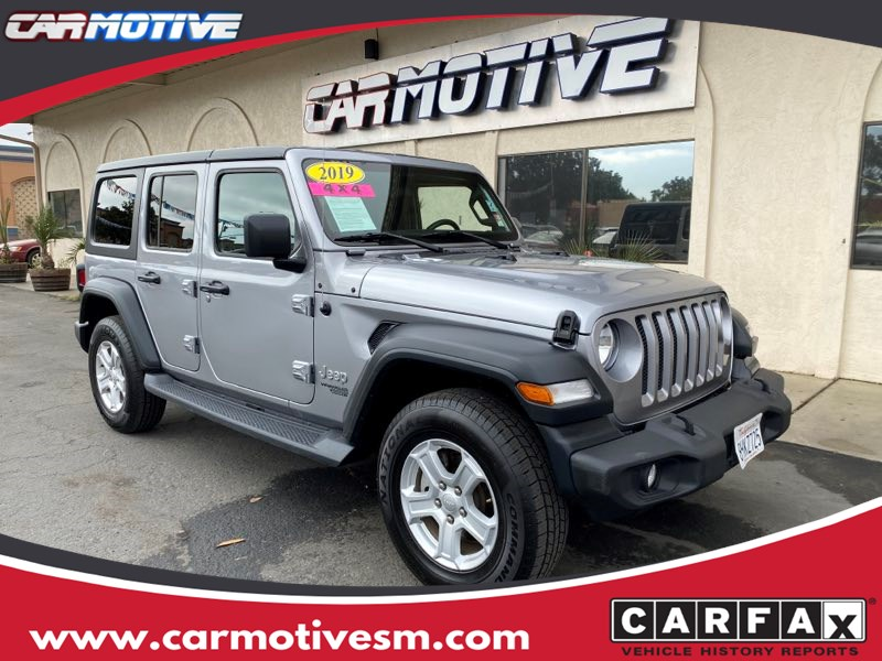 2019 Jeep Wrangler Unlimited Sport S Sport Utility 4D