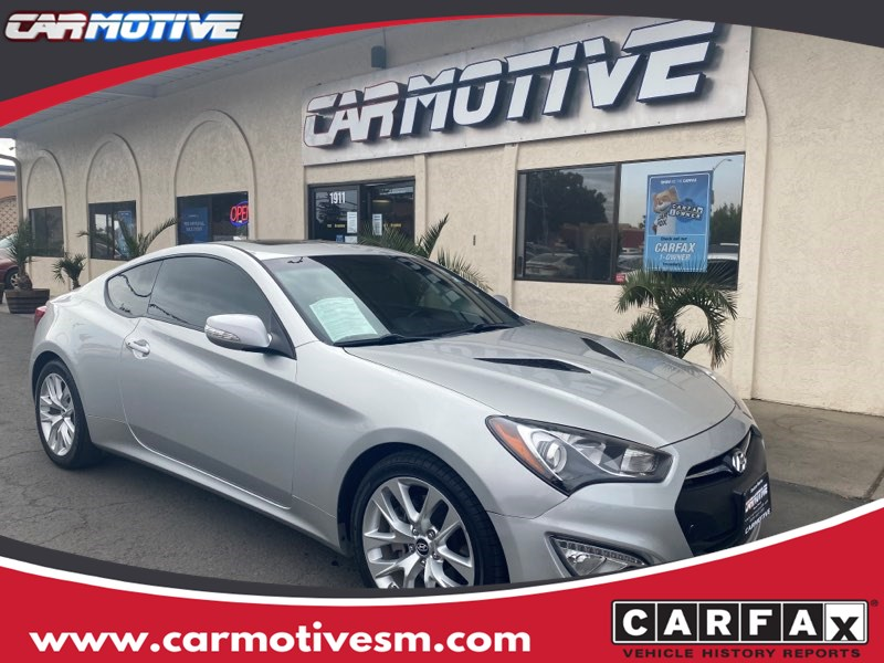 2013 Hyundai Genesis Coupe 3.8 Grand Touring Coupe 2D