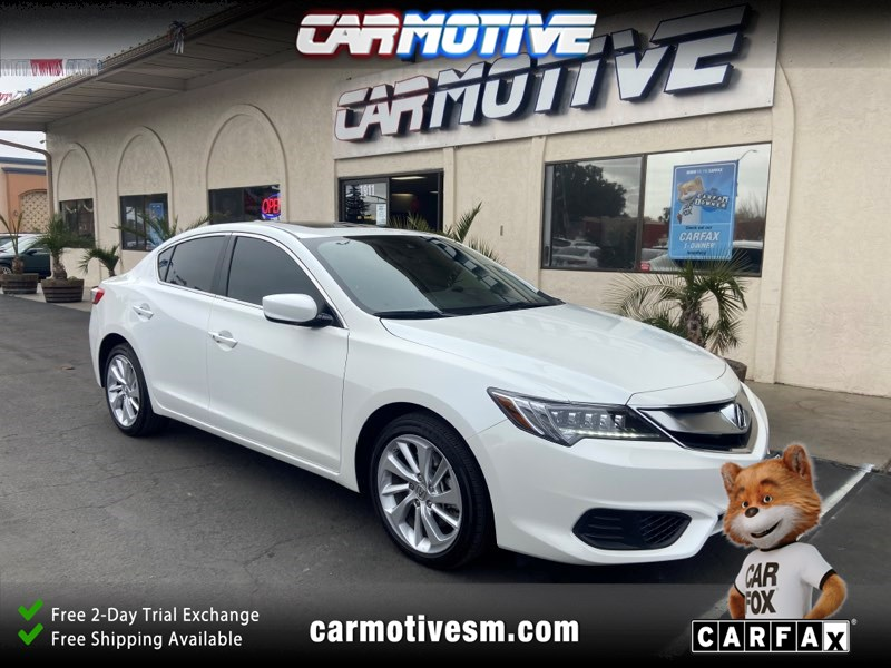 2018 Acura ILX Technology Plus Pkg Sedan 4D