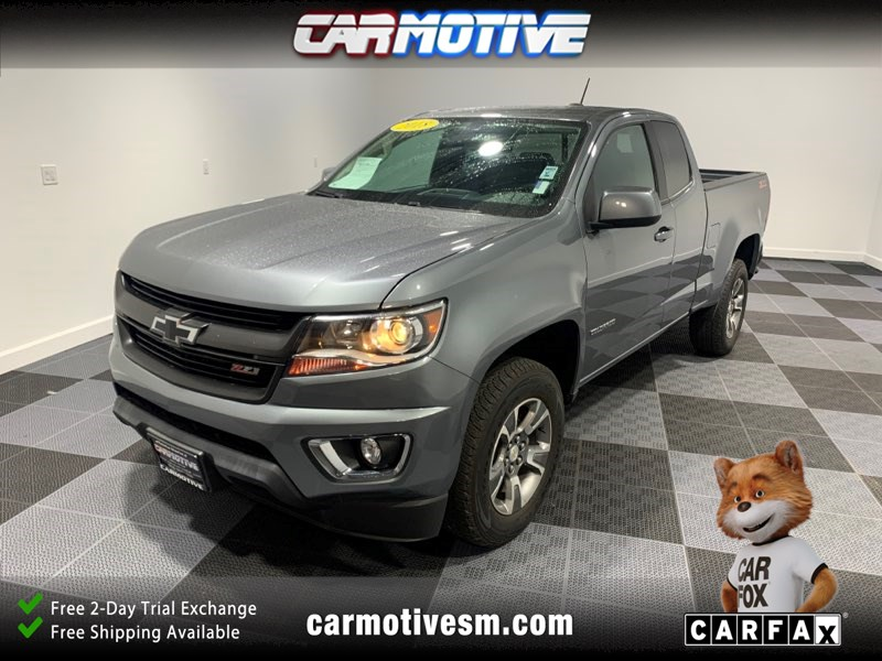2018 Chevrolet Colorado Z71 Pickup 2D 6 ft