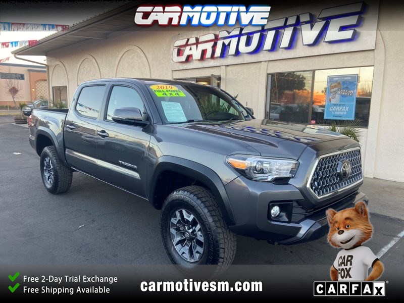 2019 Toyota Tacoma 4WD TRD Off-Road Pickup 4D 5 ft
