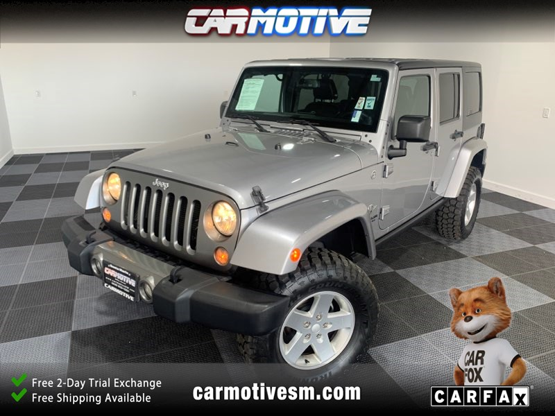 2014 Jeep Wrangler Unlimited Unlimited Freedom Edition Sport Utility 4D