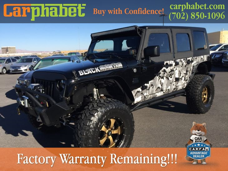 4573c6ab4ab Sold 2015 Jeep Wrangler Unlimited Black Mountain Conversion Sport in ...
