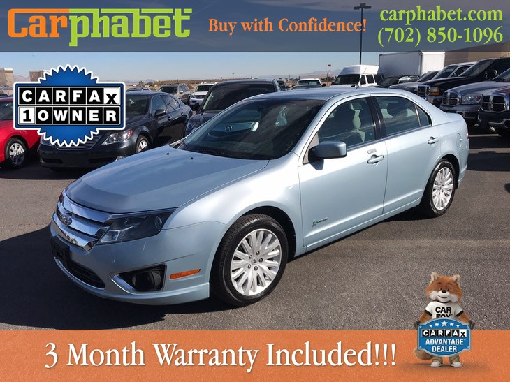 used 2011 ford fusion hybrid in las vegas