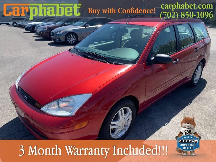 2001 Ford Focus Se Carphabet