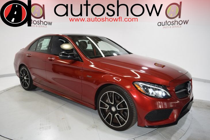 2016 Mercedes Benz C Class C 450 Amg 4matic Autoshow Sales And Service