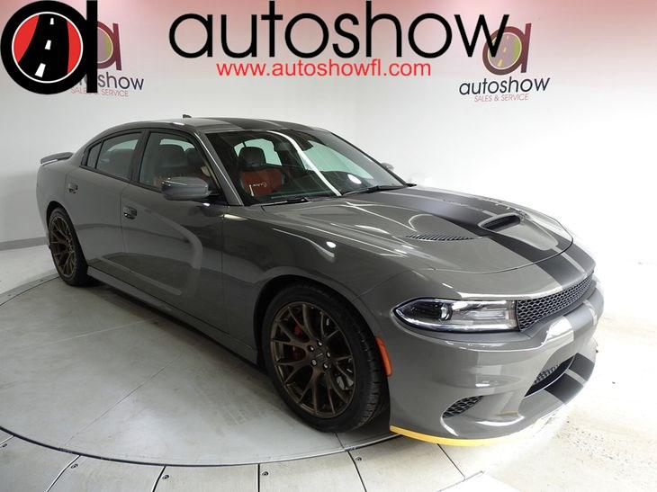 Sold 2017 Dodge Charger Srt Hellcat In Plantation