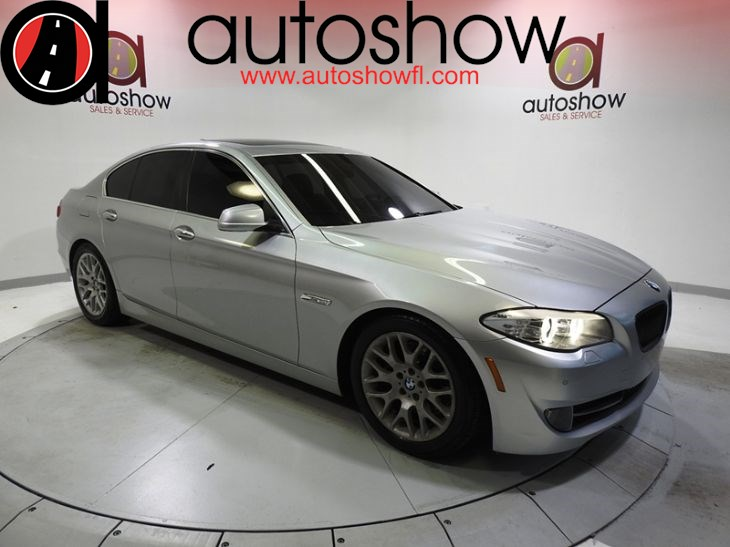Sold 2013 Bmw 5 Series 535i In Plantation