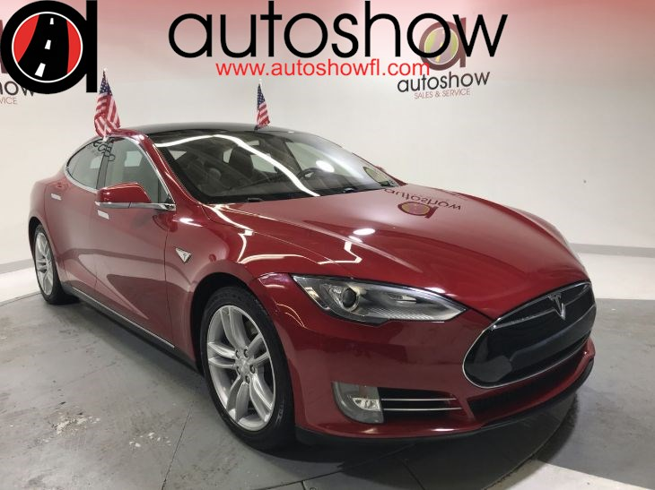 2013 Tesla Model S Performance 85