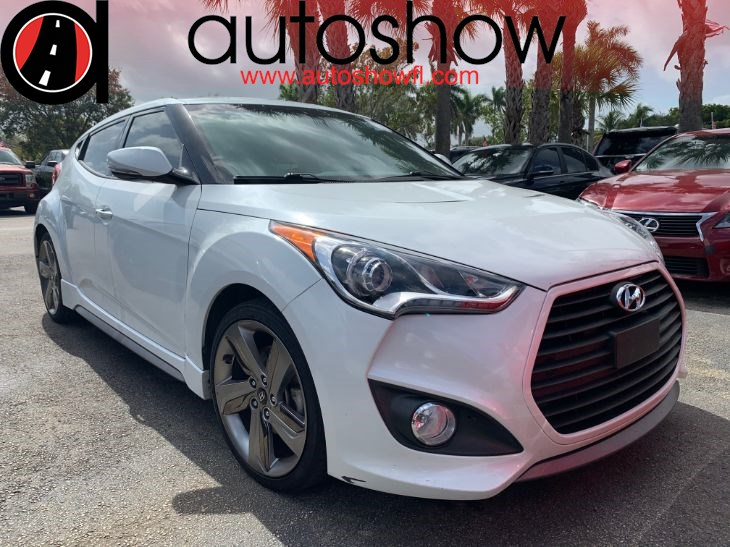 2014 Hyundai Veloster Turbo w/Black