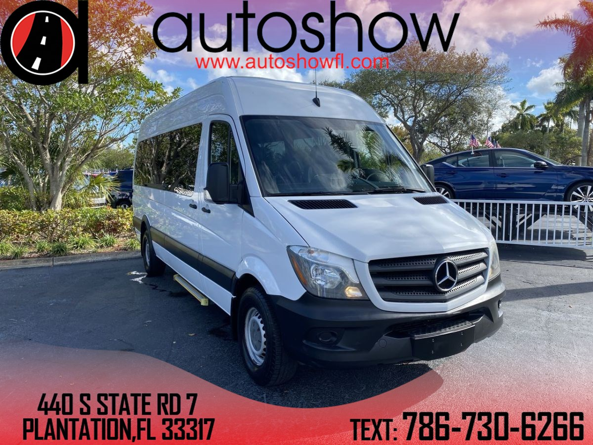 2016 Mercedes-Benz Sprinter 2500 Passenger 170 WB BlueTEC®