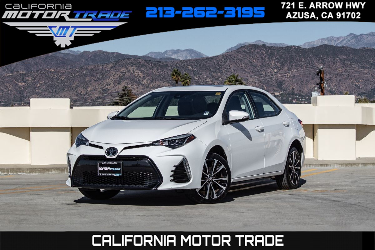 2017 Toyota Corolla SE (SE PREMIUM PACKAGE & BACKUP CAMERA)