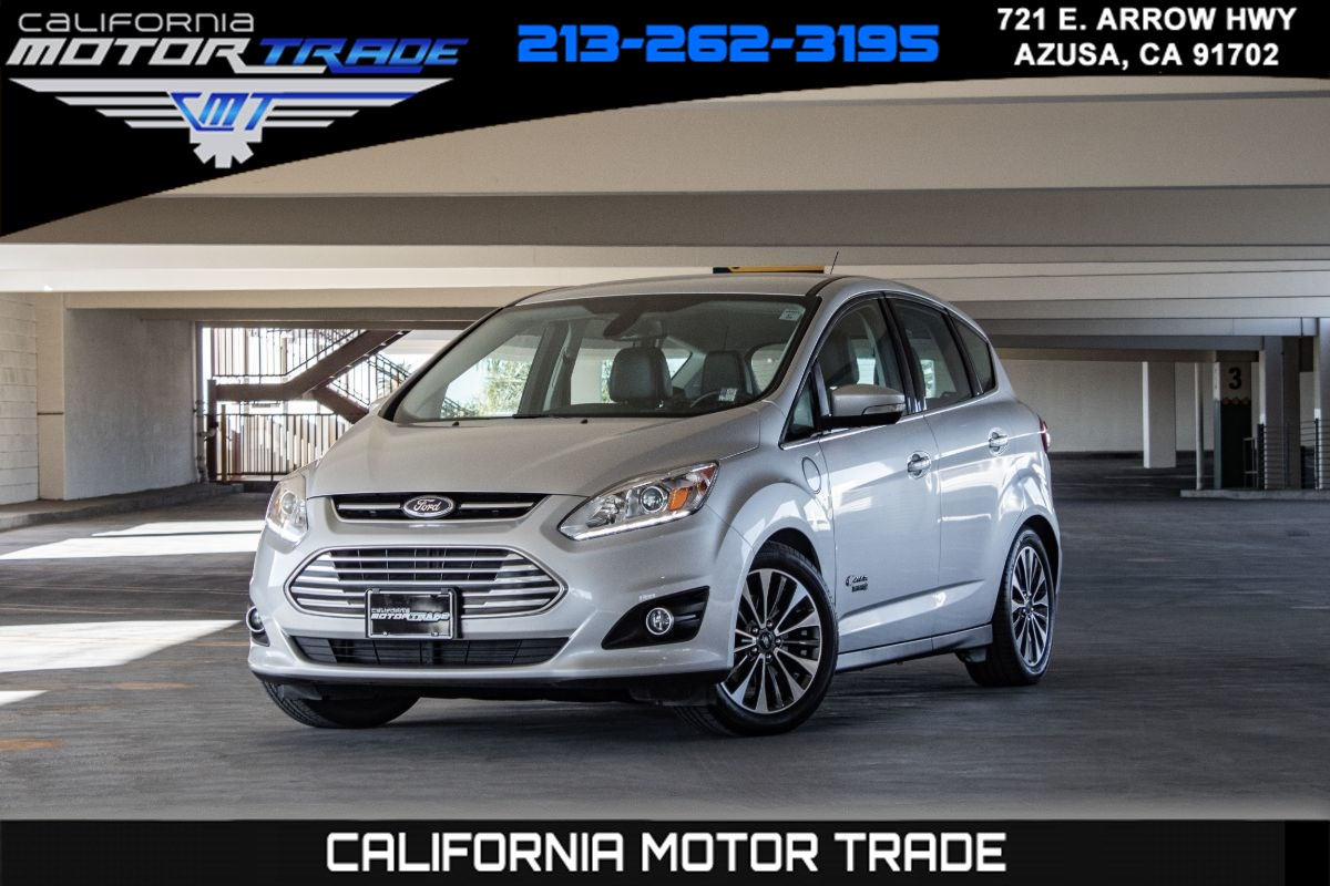 2017 Ford C-Max Energi Titanium (VOICE NAVIGATION & LEATHER HEATED SEATS)