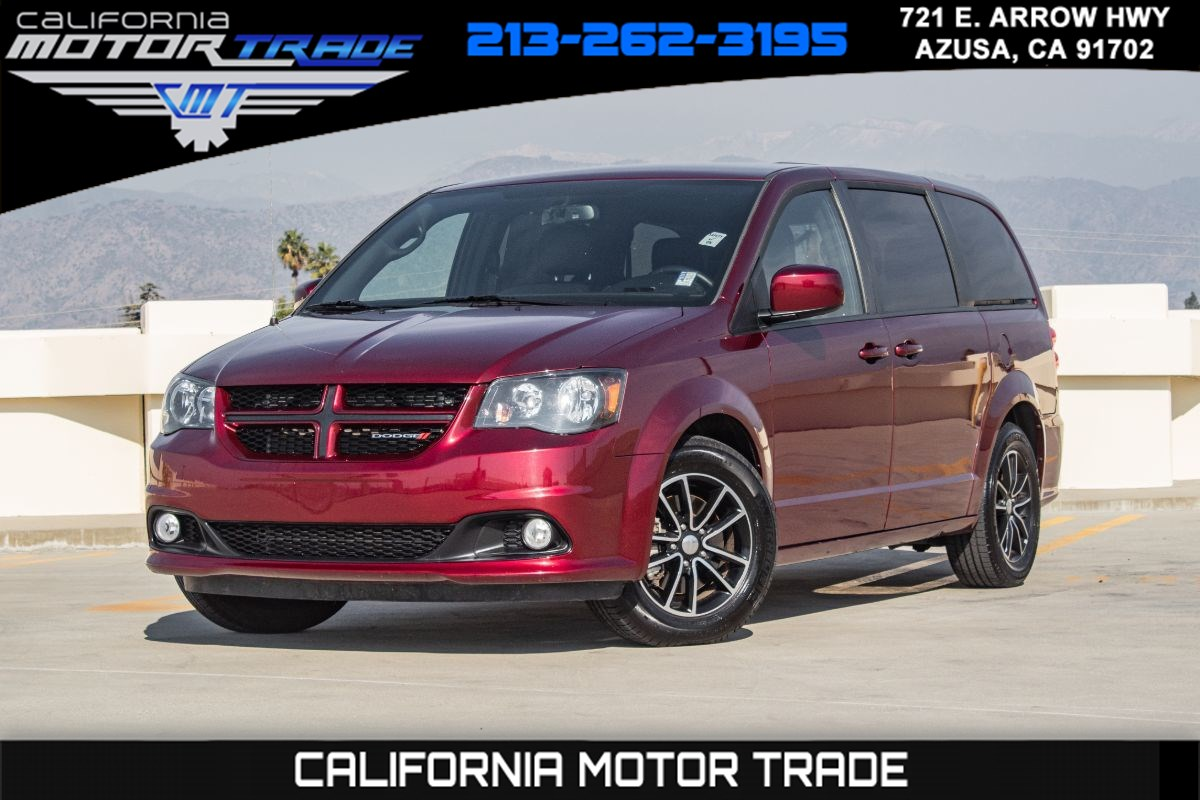 2018 Dodge Grand Caravan GT (NAVIGATION & LEATHER SEATS)