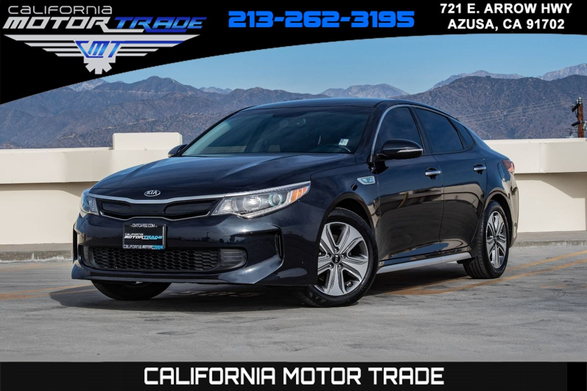 2017 Kia Optima Hybrid EX (NAVIGATION & LEATHER HEATED SEATS)