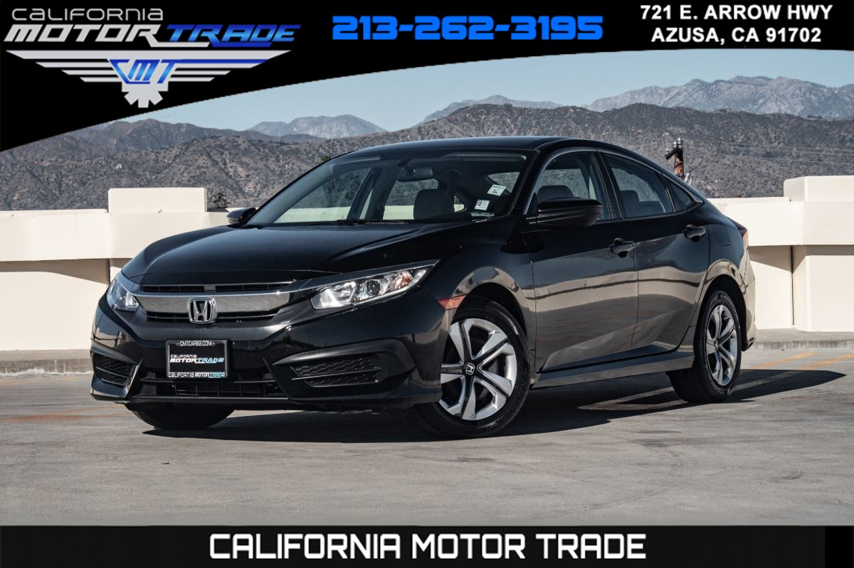 2018 Honda Civic Sedan LX (BACKUP CAMERA & BLUETOOTH)