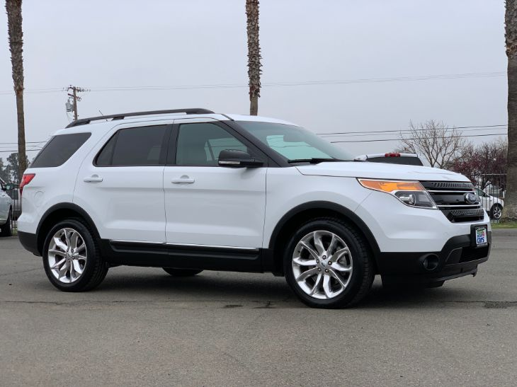 White Ford Explorer >> 2015 Ford Explorer Xlt Cal Auto Outlet 4 Cars