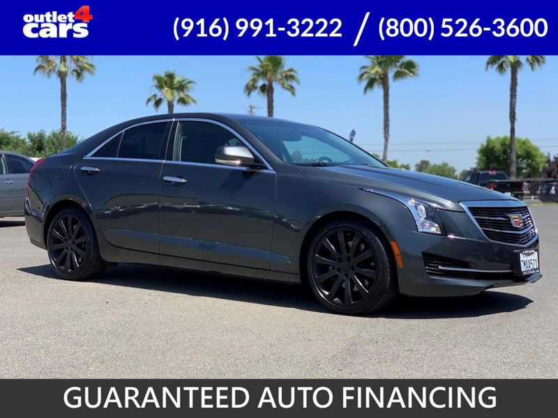 2016 Cadillac ATS Sedan Luxury Collection RWD - Cal Auto Outlet 4 Cars